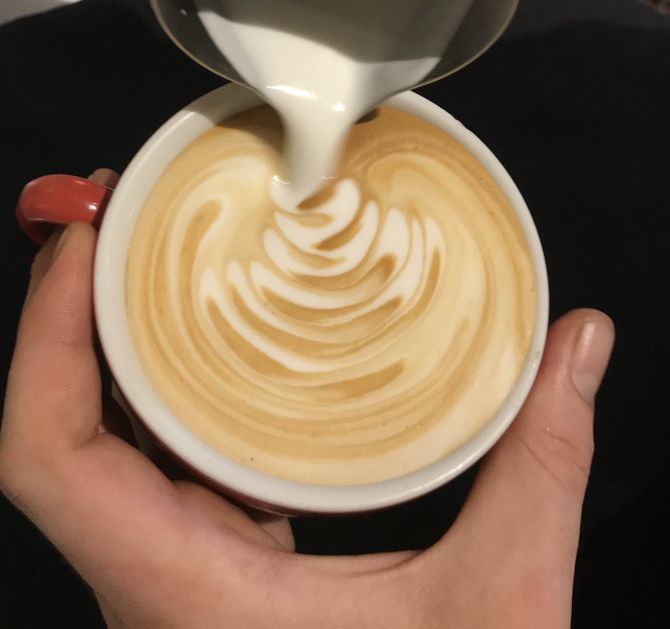hand crafted espresso drinks at Coffeetopia